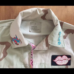 American Apparel Jackets & Coats - AMERICAN APPAREL DESERT CAMOUFLAGE FIELD JACKET M